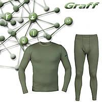 Комплект термобелья с ионами серебра Graff  900/901, фото 1
