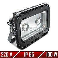Линзовый LED прожектор 100 Вт, 220 В, матричный