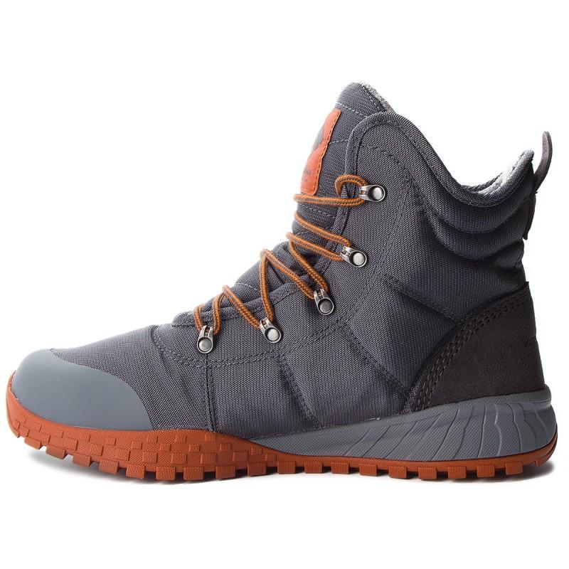"ОРИГИНАЛ! Зимние кроссовки, ботинки Columbia Fairbanks Omni-Heat ""Graphite Dark Adobe"" (Серые)"
