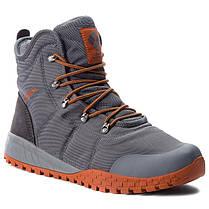 "ОРИГИНАЛ! Зимние кроссовки, ботинки Columbia Fairbanks Omni-Heat ""Graphite Dark Adobe"" (Серые), фото 2"