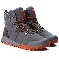 "ОРИГИНАЛ! Зимние кроссовки, ботинки Columbia Fairbanks Omni-Heat ""Graphite Dark Adobe"" (Серые), фото 3"