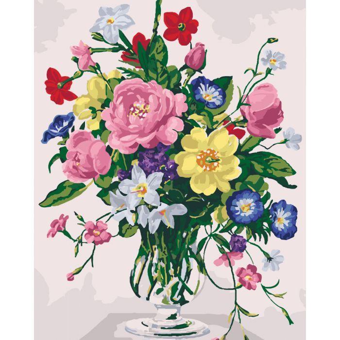 Картина по номерам Аромати літнього саду, 40x50 см., Идейка