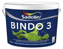 Глубокоматовая краска Sadolin Bindo 3 2,5л