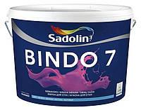 Моющаяся краска Sadolin Bindo 7 10л - для стен и потолка (матовая)