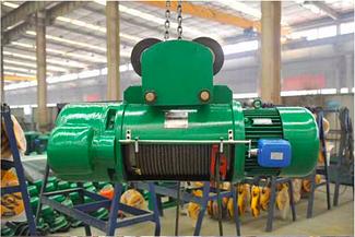 Тельфер компании Weihua CD10T-6M грузоподъемность 10т, высота 6м