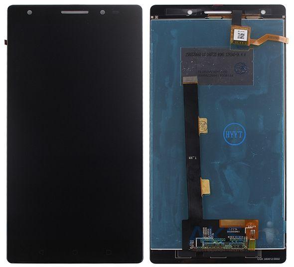 Дисплей для Lenovo PB2-670M Phab 2 Plus с тачскрином черный Оригинал (тестирован)