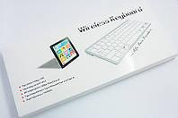Клавиатура беспроводная Mac 78 клавиш ультра тонкая Key Slim Bluetooth Wireless QWERTY iPad iPhone