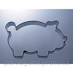 Форма для вырубки свинка 100 мм Smolik