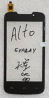 Сенсор (тачскрін) для Explay Alto original чорний