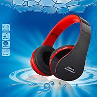 Wireless Headphones Bluetooth NX-8252 Black/Red - беспроводные наушники-гарнитура , фото 1