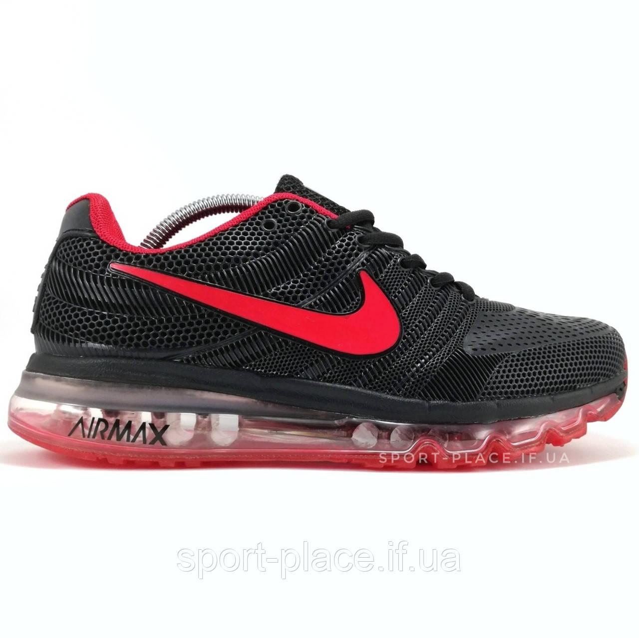 ee43143a Мужские кроссовки Nike Air Max 2017 black & red (лицензия) - Интернет  магазин кроссовок