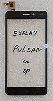 Сенсор (тачскрін) для Explay Pulsar original чорний