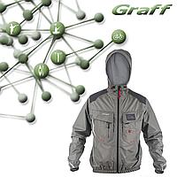 Рыболовная куртка-дождевик Climate - GRAFF PRO 605-B-CL, фото 1