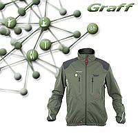Куртка для рыбалки Softshell Climate - GRAFF PRO 505-WS-CL, фото 1