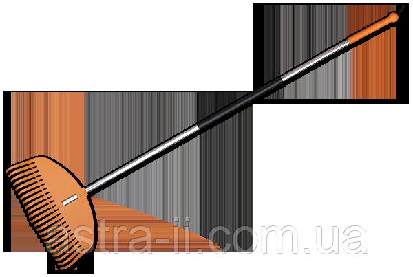 TQ-G23TA Граблі віялові - 23 зубці, черенок алюмінієвий, арт. TQ-G23TA (шт.)