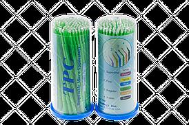 Аппликаторы (микробраши) TPC, 100шт/уп Regular зеленый