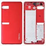 Задняя крышка для Meizu Pro 7, красная