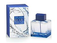 Чоловічий парфум Antonio Banderas Splash Blue Seduction for Men, 100 мл
