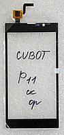 Сенсор (тачскрін) для Cubot P11 original чорний
