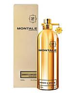 Лицензия Montale  Amber & Spices (унисекс)