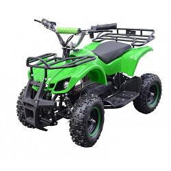 Детский электроквадроцикл  EATV TIGER 800 W GREEN