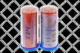 Аппликаторы (микробраши) TPC, 100шт/уп Regular оранжевый
