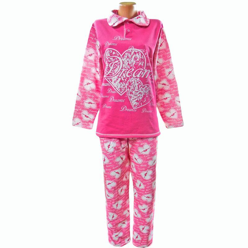 Пижама женская теплая для дома и сна