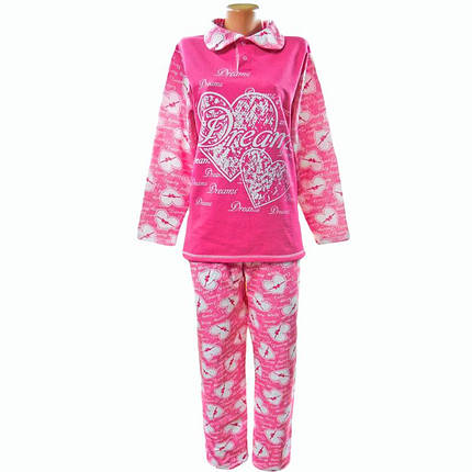 Пижама женская теплая для дома и сна, фото 2
