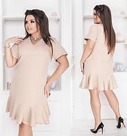 cb579230996 Красивое летнее женское молодежное платье большого размера +цвета