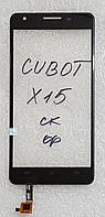 Сенсор (тачскрін) для Cubot X15 original чорний