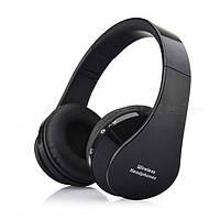 Wireless Headphones Bluetooth NX-8252 Black - беспроводные наушники-гарнитура , фото 1