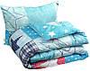 """Набор одеяло демисезонное силикон 140х205 + подушка 50х70 Зірка Остра ТМ """"Руно"""""""