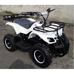 Детский электроквадроцикл  EATV TIGER 800 W WHITE