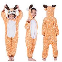 Пижама Кигуруми Северный Олень рост 90-100 см