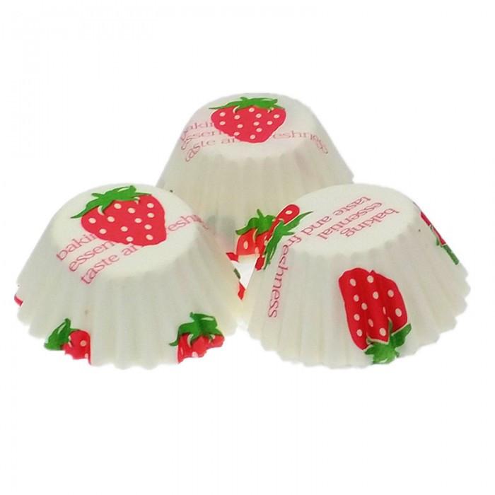 Форма бумажная для кексов Клубника тарталетка 1000 шт.