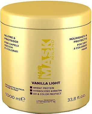 """Маска для волос """"Imperity Vanila Light"""" для сухих и окрашенных волос (1 л.)"""