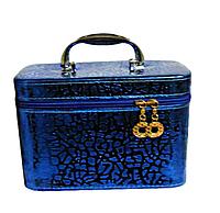 Косметичка чемодан для косметики маленькая, фото 1