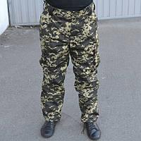 Штаны (брюки) зимние пиксель на флисе., фото 1
