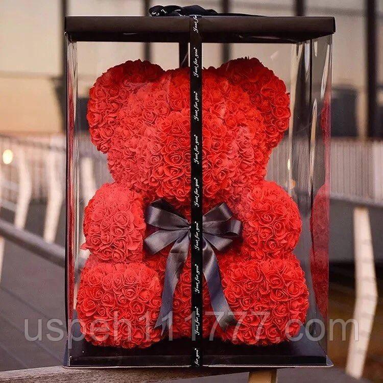Ведмідь із троянд (3D ведмідь)
