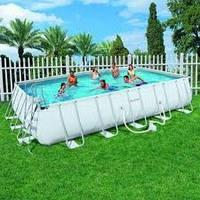 Сборный каркасный бассейн BestWay-56226. размер 671х396х132 см