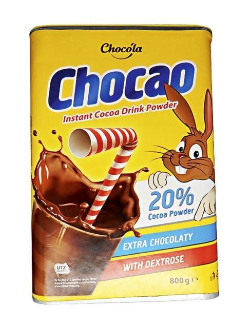 Какао - напій Chocola chocao 800 г