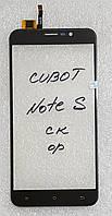 Сенсор (тачскрін) для Cubot Note S original чорний