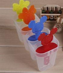 Формочки для морозива Міккі Маус (4 форми) / Формочки для мороженого Микки Маус (4 формы)