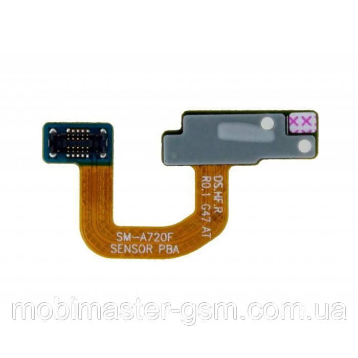 Шлейф Samsung A520F c датчиком освещённости