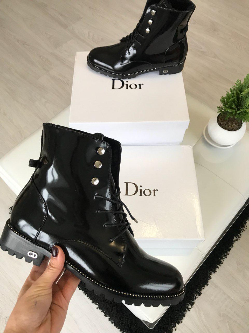 704108fa0570 Ботинки зимние женские кожаные
