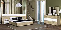 """Спальня """"Соната"""" від Миро-Марк (білий глянець -сан маріно)."""
