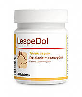 Dolfos LespeDol 40 табл. - ЛеспеДол - добавка с мочегонным действием для собак