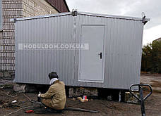 Вагончик мобильный, 2-х модульный (6 х 4.8 м.), для производства, офиса, штабной., фото 3