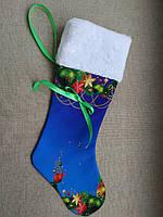 НЧ-2. Новорічний чобіток без вишивки на габардині. Готовий виріб.
