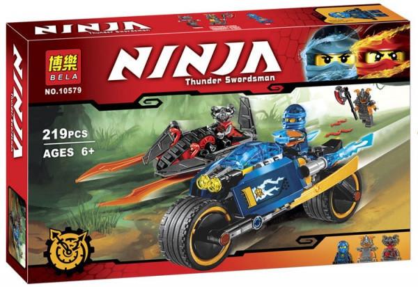 Конструктор Ниндзя Ninja 10579 Пустынная молния Ninjago, 219 дет лего
